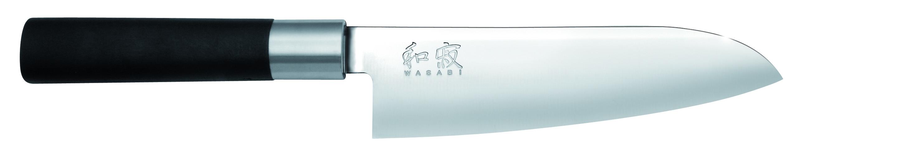Nôž Wasabi Black Santoku 6716S