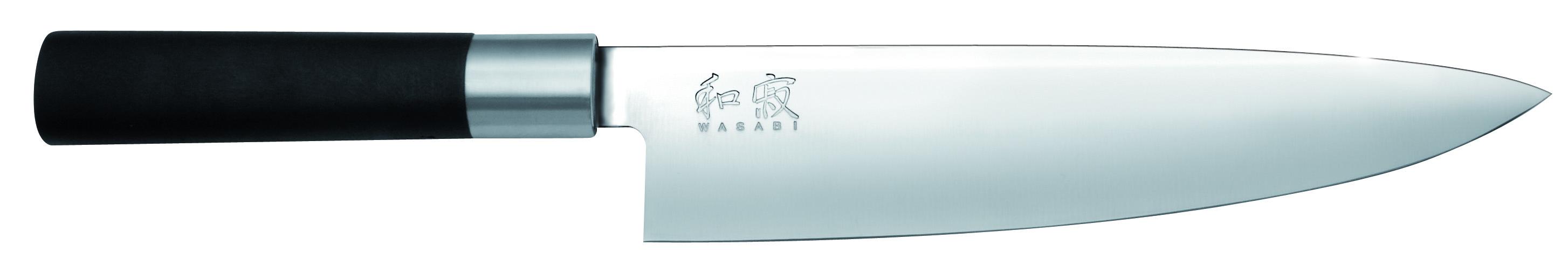 Japonský nôž šéfkuchára Wasabi Black 6720C