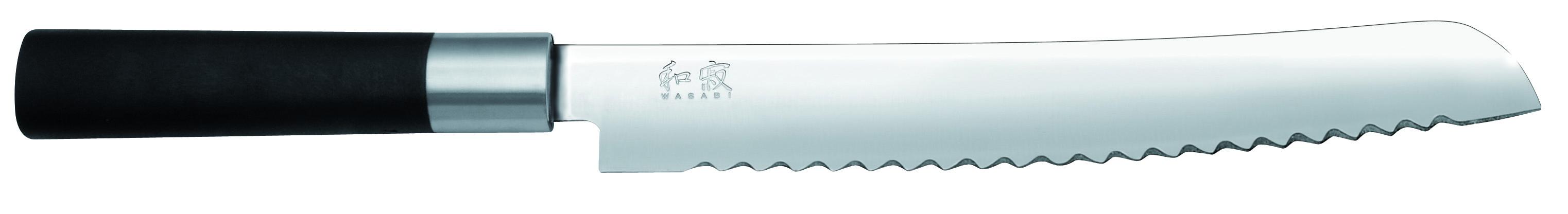 Nôž na chlieb Wasabi Black 6723B