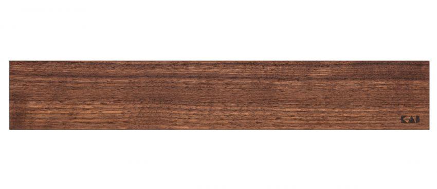 Magnetický držiak na nože z orechového dreva KAI DM-0807