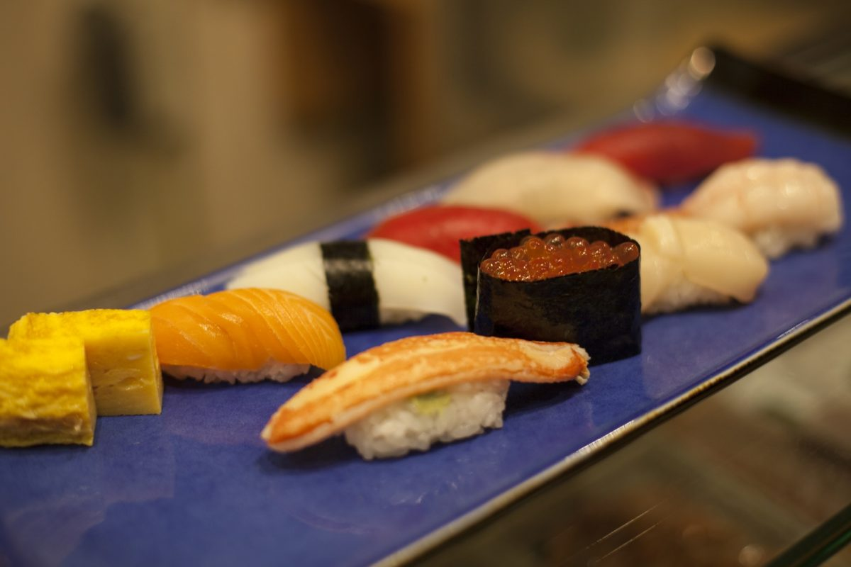 Nože na sushi