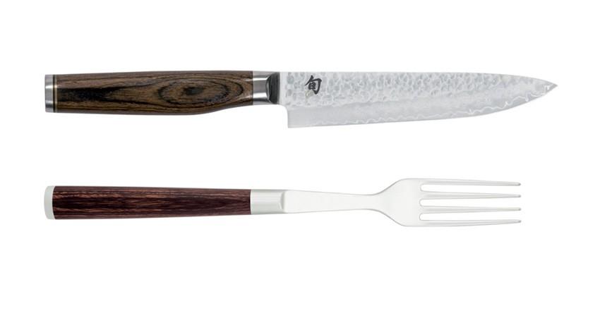 Luxusný damaškový príbor na steak KAI TDM-0907
