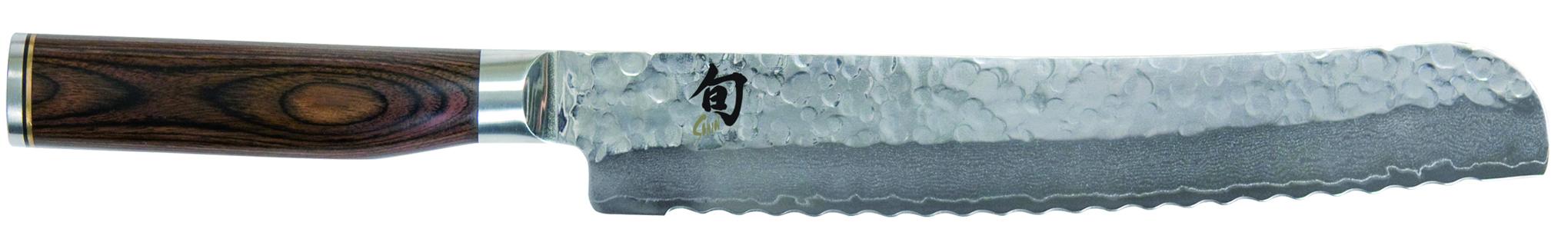 Japonský damaškový kuchynský nôž na chlieb Tim Mälzer TDM-1705