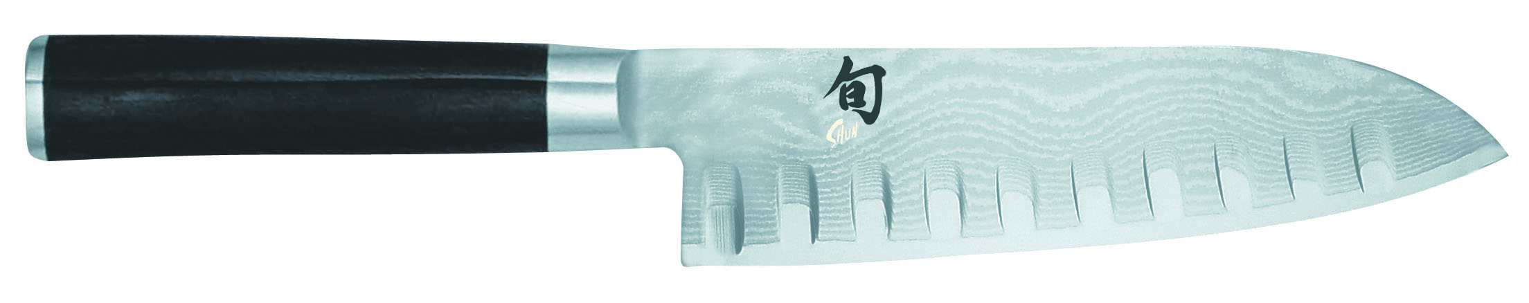 Nôž Shun Santoku s výbrusmi DM-0718