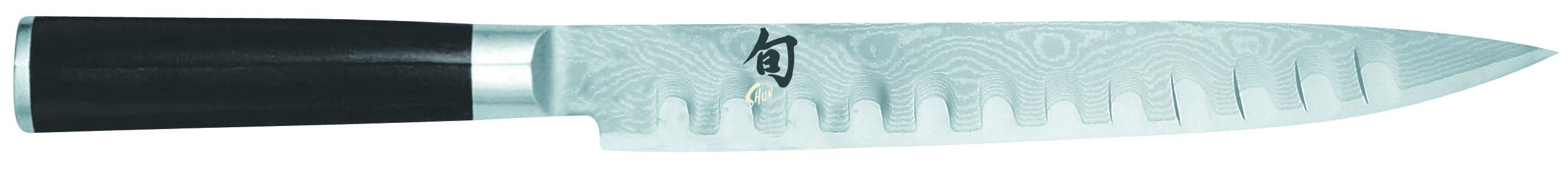 Damaškový nôž na plátkovanie s výbrusmi Shun DM-0720