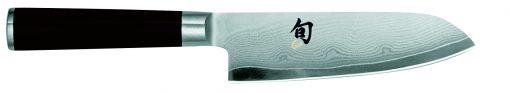 Damaškový nôž Shun Santoku DM-0727
