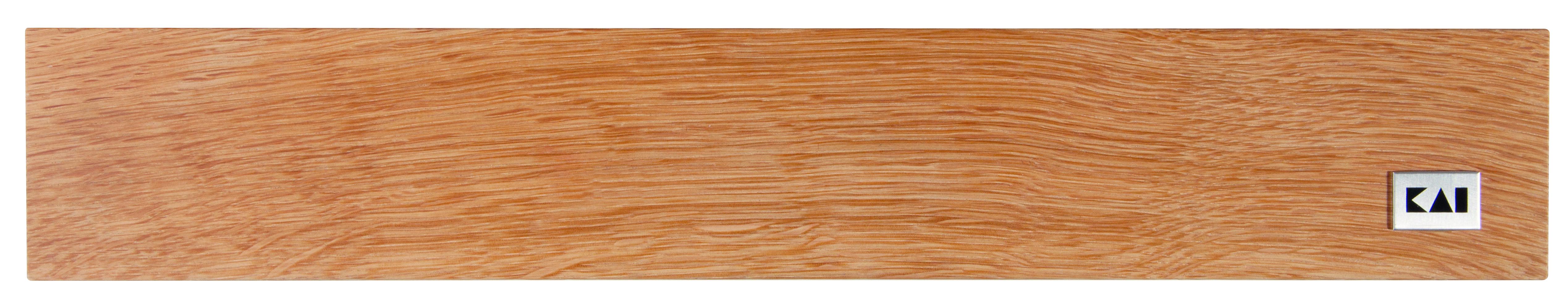 Magnetický držiak na nože z dubového dreva KAI DM-0807