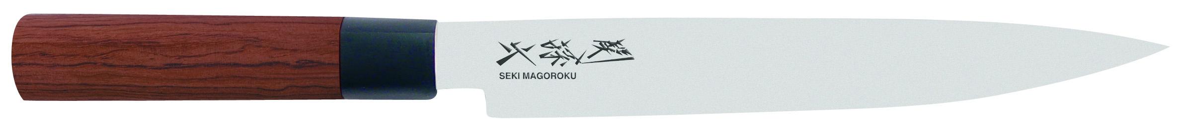 Japonský kuchynský nôž na filetovanie Seki Magoroku MGR-0200L