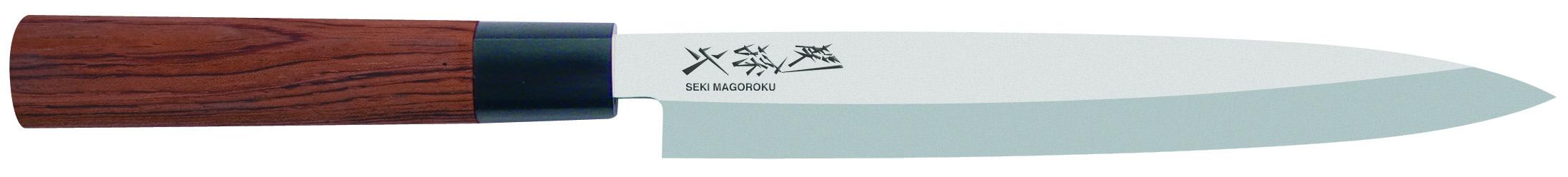 Japonský kuchynský nôž na sushi Seki Magoroku Yanagiba MGR-0210Y