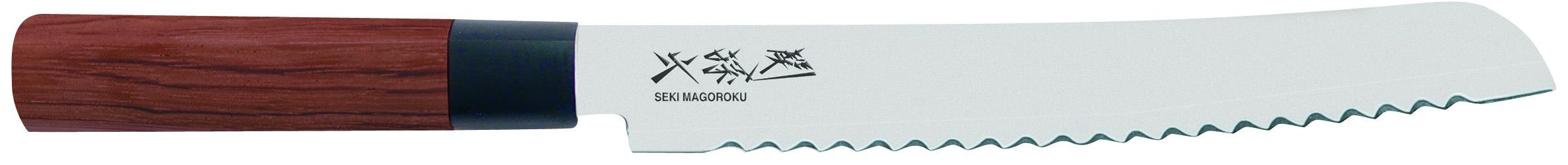Japonský kuchynský nôž na chlieb Seki Magoroku MGR-0225B
