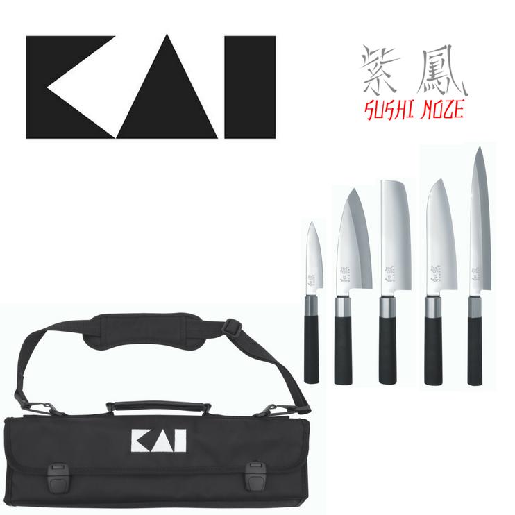 Profesionálna sada japonských nožov KAI DM-0781 JP 67