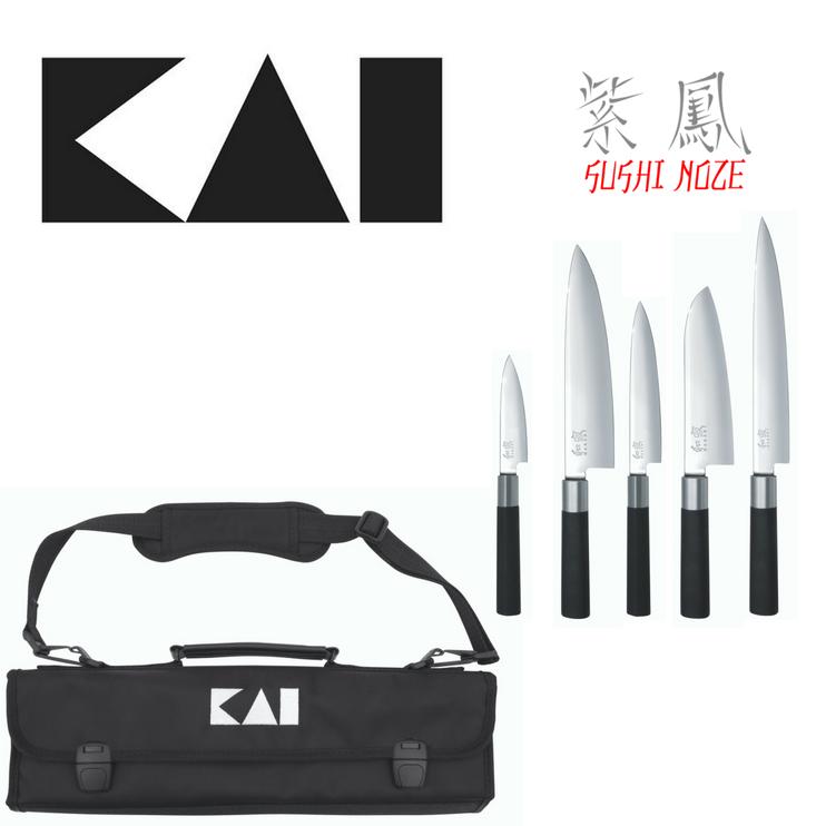 Profesionálna sada sushi nožov KAI DM-0781 EU 67