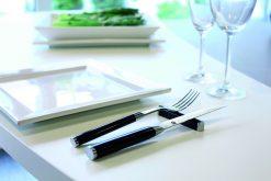 Luxusné príbory a steak